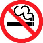 English Smoking Ban : RAUCHEN VERBOTEN
