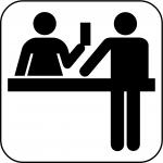 Ticket desk
