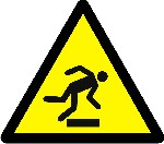 Warning floor level obstacle